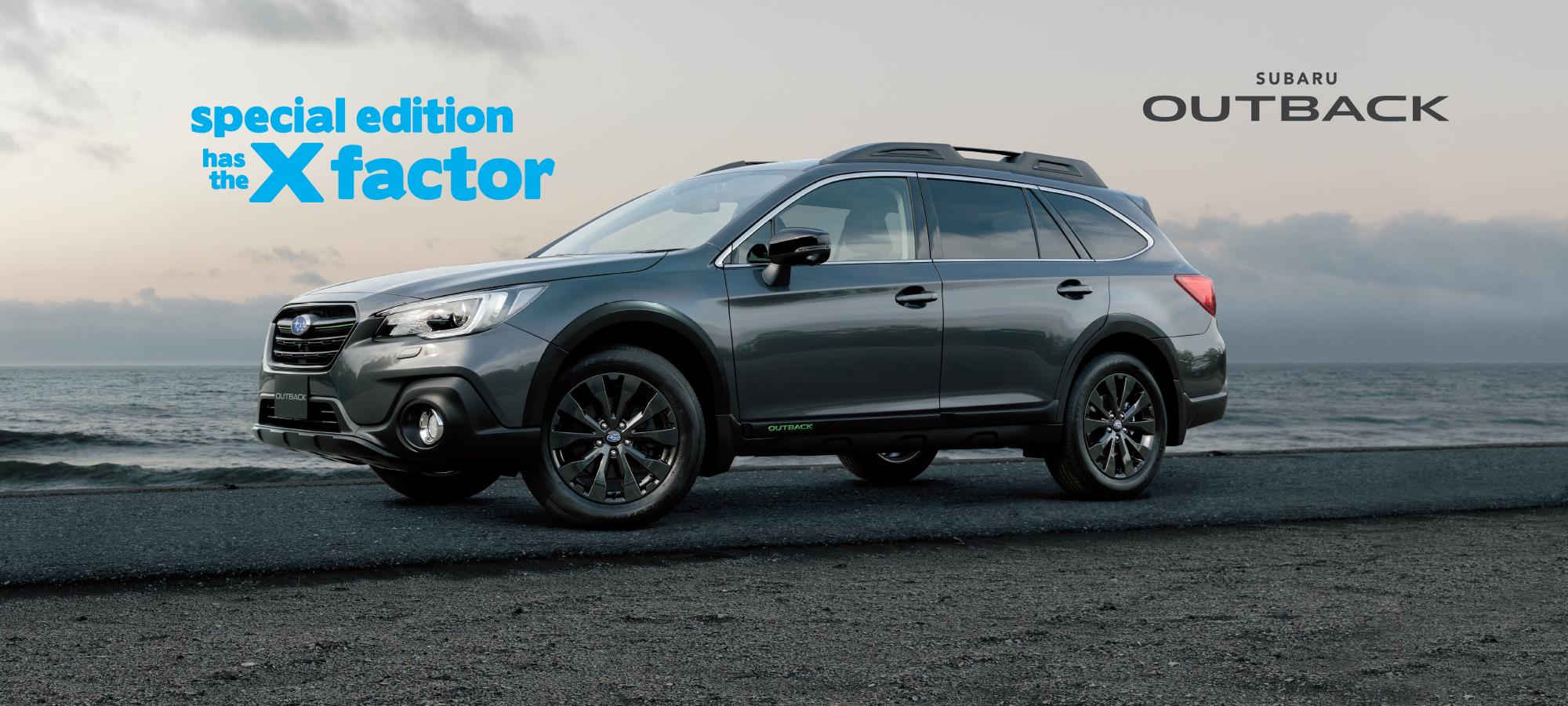 Bartons Bayside Subaru Outbak Special Edition