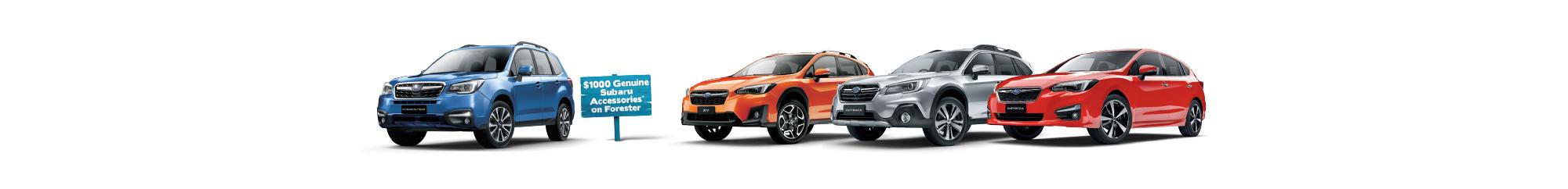 Bartons Capalaba Subaru 4 Day Sale